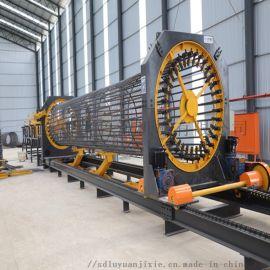 钢筋笼滚焊机 数控钢筋笼滚丝机 全自动钢筋笼成型机