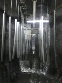 厂家供应汽车配件静电喷漆设备生产线