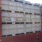 摺疊式金屬週轉箱堆垛箱鐵板倉儲籠可摺疊可堆垛