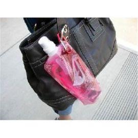 供应折叠水袋 便携式塑料水壶   大气登山水袋