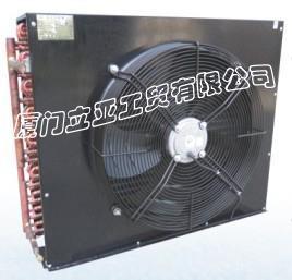 半封闭风冷冷凝器,冷库用冷凝器,制冷设备冷凝器,高效冷凝器