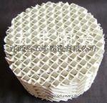 陶瓷开孔规整波纹填料