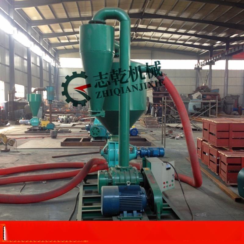 吸粮机 散装颗粒物粮食气力管道输送设备 大豆玉米气力输送机