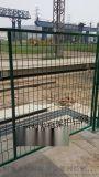 太原框架护栏网-框架隔离栅-绿色公路框架护栏网厂家冀发直供