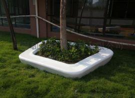 河南定製玻璃鋼花池異形坐凳玻璃鋼桌子優惠來圖定做