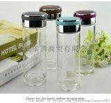 西安保温杯定制 双层玻璃杯 富光精品玻璃杯印字