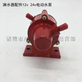 汽油柴油淋水器配件12V24V水泵循环式电动油泵