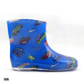 PVC儿童水晶雨鞋雨靴