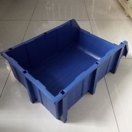 HDPE塑料零件箱A7 全新料零件盒 现货标准尺寸零件箱批发定制