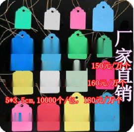 【供应】耐用塑料吊牌 多用途实用标签牌 防水吊园艺植物标