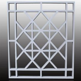 廣東廠家中式鋁窗花環保材料雕花鋁單板造型規格定制
