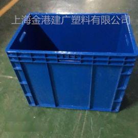 厂家直销 4644塑料周转箱 物流箱  汽车配件包装箱600*400*440