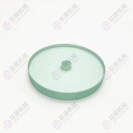 定制钢化玻璃 法兰视镜玻璃 带刷视镜玻璃