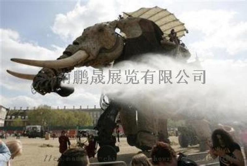 霸氣機械大象租賃金剛模型租賃