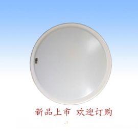 LED圆形吸顶灯 楼梯过道走廊全白纯白吸顶灯工程款宽电压1220V