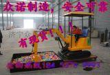 儿童游乐挖掘机游乐场设备最低价室内挖掘机,室外挖掘机,可旋转儿童挖掘机便宜厂家