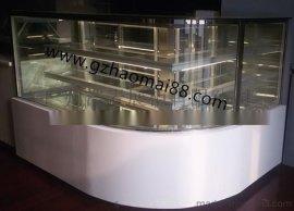转角蛋糕柜 冷藏柜 蛋糕展示柜 保鲜柜 冷柜