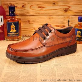 工厂新款真皮男鞋**简约商务休闲皮鞋低帮鞋厂家直销 单鞋