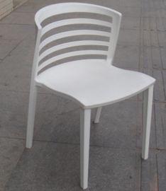 时尚大方的塑胶椅 洽谈椅 白色塑料椅