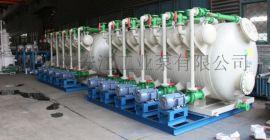多连套水喷射真空泵机组