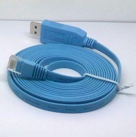 FT232+ZT213 USB2.0 RS232串口转RJ45 思科路由器 控制线