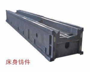 河北大恒数控龙门铣床 机床铸件 床身铸件
