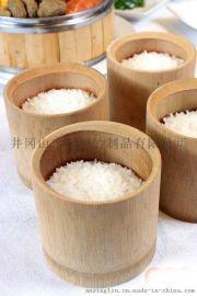 珍之竹品天然蒸筒棕子竹筒 定做新鲜竹筒饭竹筒 无漆餐具