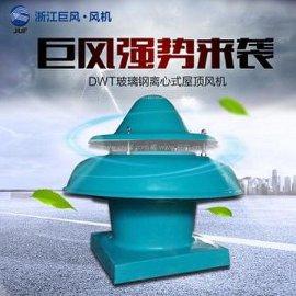 低噪声DWT-I-6#(防爆)屋顶玻璃钢轴流通风机 质保一年