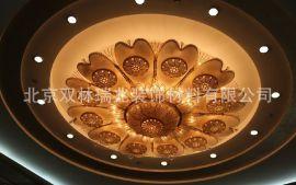 中元之光定制贵宾厅中式豪华云石吊灯奢华水晶挂件灯精美LED环保节能装饰吊灯