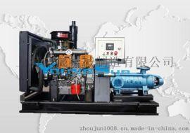 柴油消防泵组 柴油机水泵机组