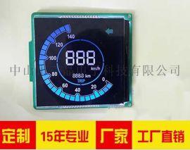 LCD显示屏厂家  定制汽车仪表屏LCD液晶屏