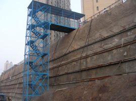 桥墩爬梯/桥面爬梯架/建筑施工笼梯/箱式框架式梯笼