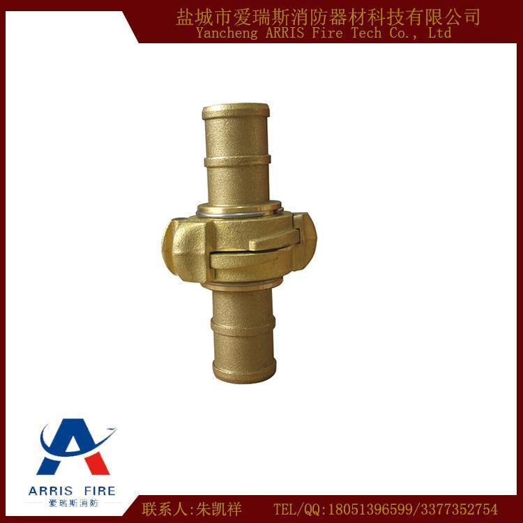 中岛式水带接扣 全铜消防水带接扣 提供CCS认证