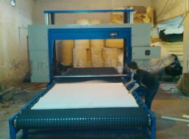 东莞宝鸿海绵输送带吸风平切机,泡棉切割机械,海绵机器