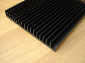 梳子散热器铝材 舞台灯散热器 LED平板散热器