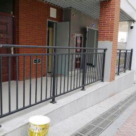 锌钢阳台护栏小区  防护栏走廊栏杆华禹厂家直销
