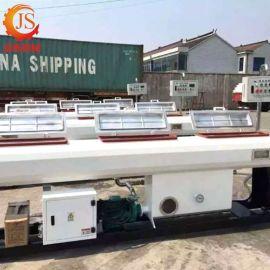 厂家定制PVC管材真空定型箱 管材喷淋挤出型冷却水箱真空型管材箱