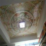 室内背景墙彩绘铝单板 天花吊顶4d打印铝单板