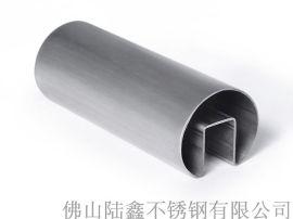 凹槽不锈钢圆管;不锈钢凹槽圆管