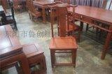 明式餐椅定做紅木傢俱價格、東陽木雕城、明清傢俱圖片