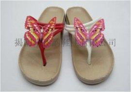 女款蝴蝶拖鞋