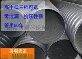 衡阳HDPE钢带增强螺旋波纹管制造商