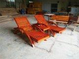 高档酒店实木躺椅沙滩椅供应商