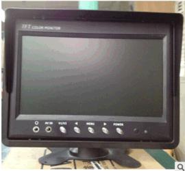 模似转AHD7寸显示器 AHD高清车载显示器 2路汽车液晶倒车显示器