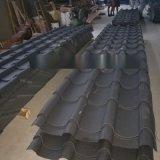 黑灰亚光仿古琉璃瓦 彩钢琉璃瓦生产厂家
