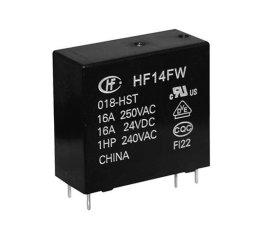 宏发(HF)继电器HF14FW/005,原装新货。 长期特价现货供应,欢迎咨询.