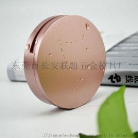 玫瑰金色假睫毛盒生产厂家 眼睫毛包装盒批发