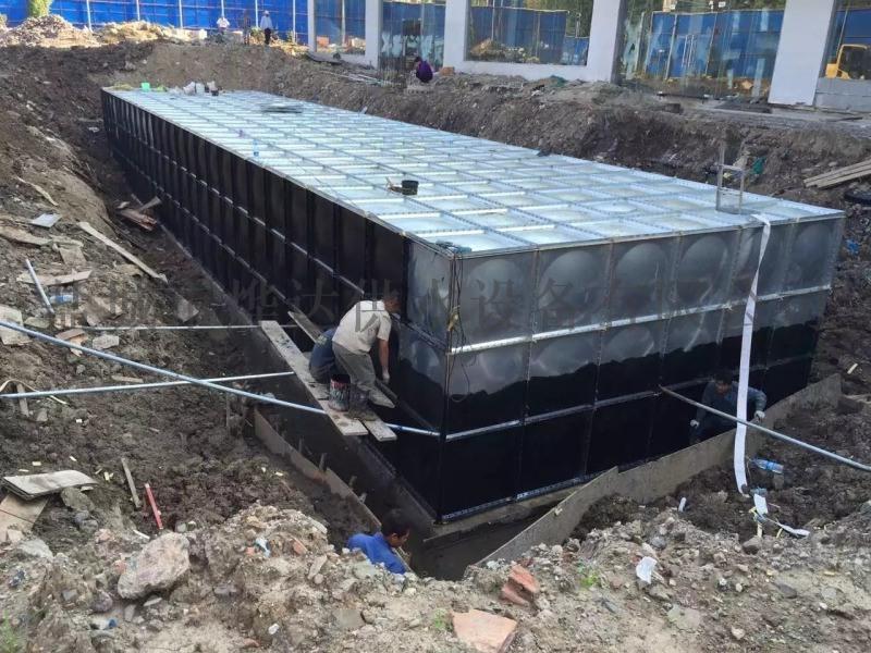 地埋型箱泵一体化给水设备