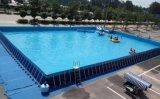 海南室外可拆卸大型支架游泳池可配套水上闯关