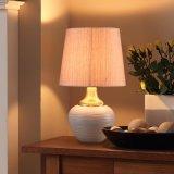 现代简约欧式陶瓷台灯卧室床头灯新中式创意客厅温馨装饰台灯